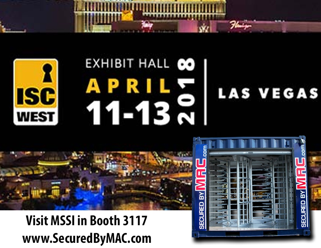 MSSI, Modular Security Systems Inc, isc west, ISC West 2018