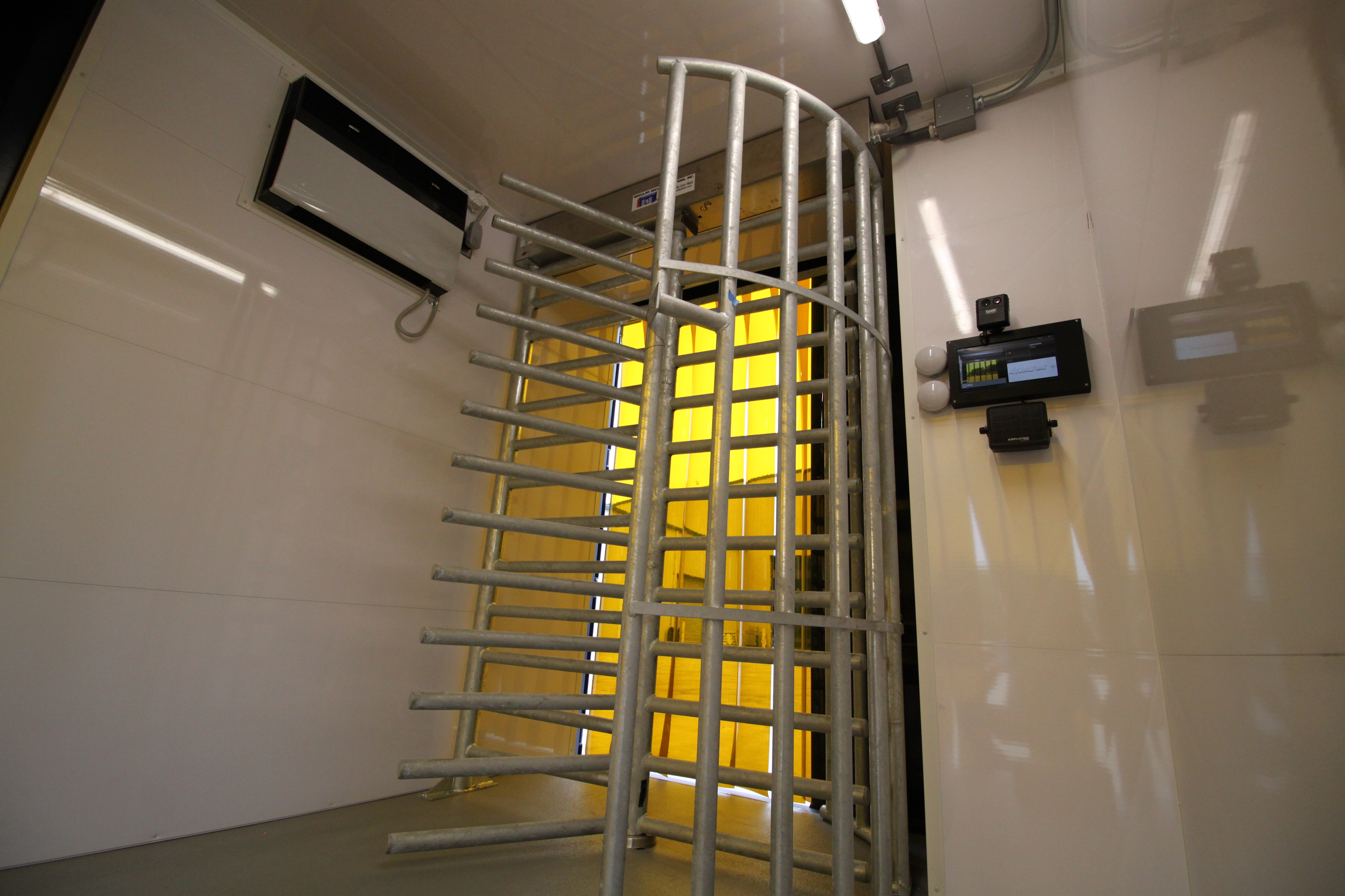 MAC Safe-T-Check, thermal screening, turnstiles, access control