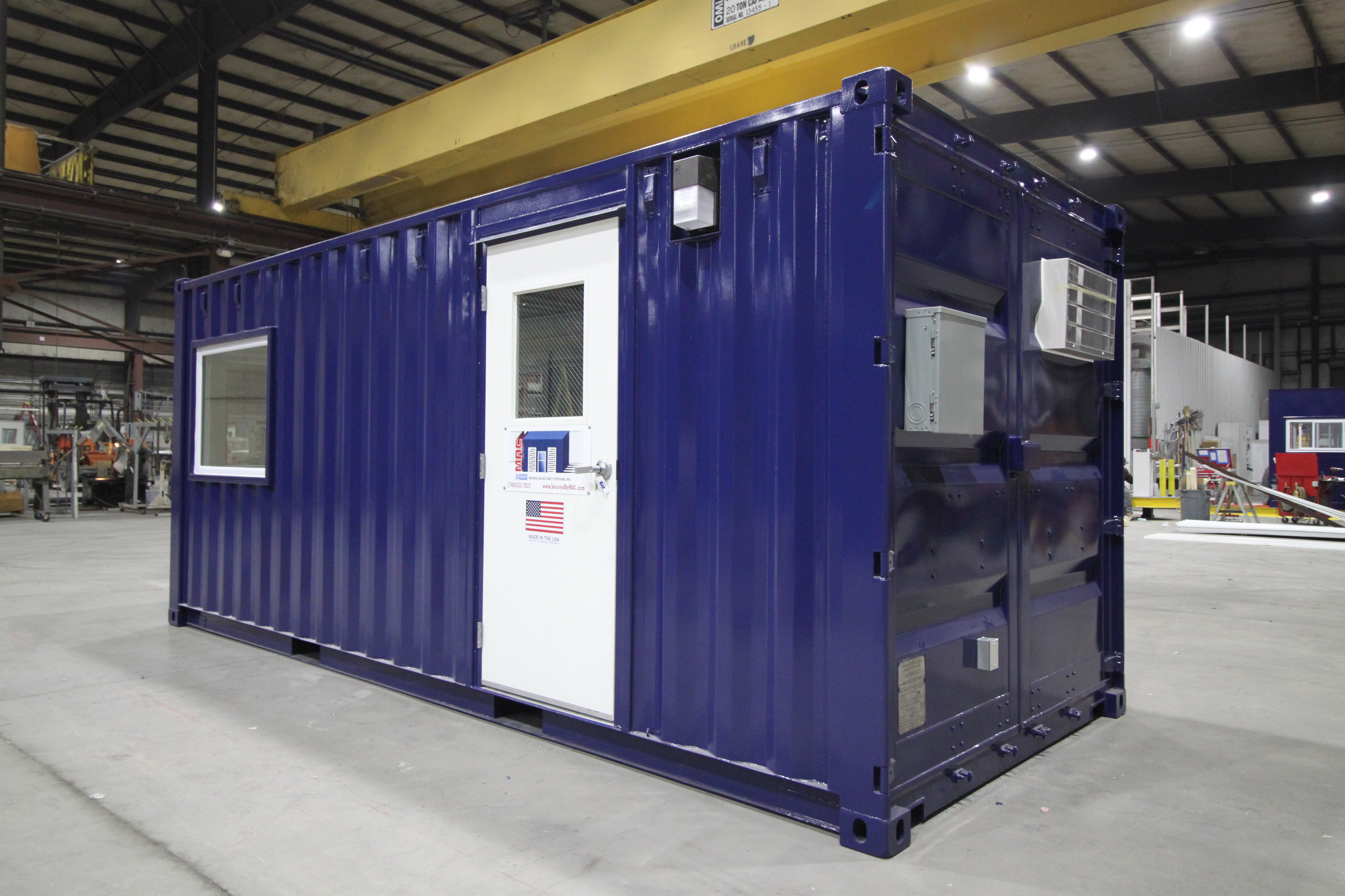 20' guard house, 20' guard booth, 20' guard office