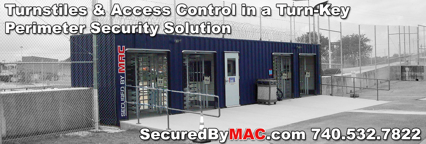Turnstiles & Access Control In a Turn-Key Perimeter Security Solution