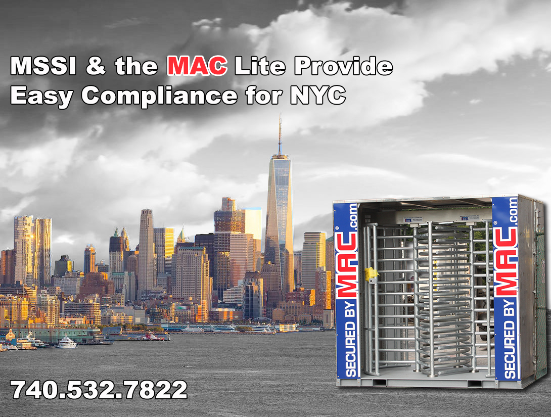 MSSI & the MAC Lite Provide Easy Compliance for NYC Local Law 196