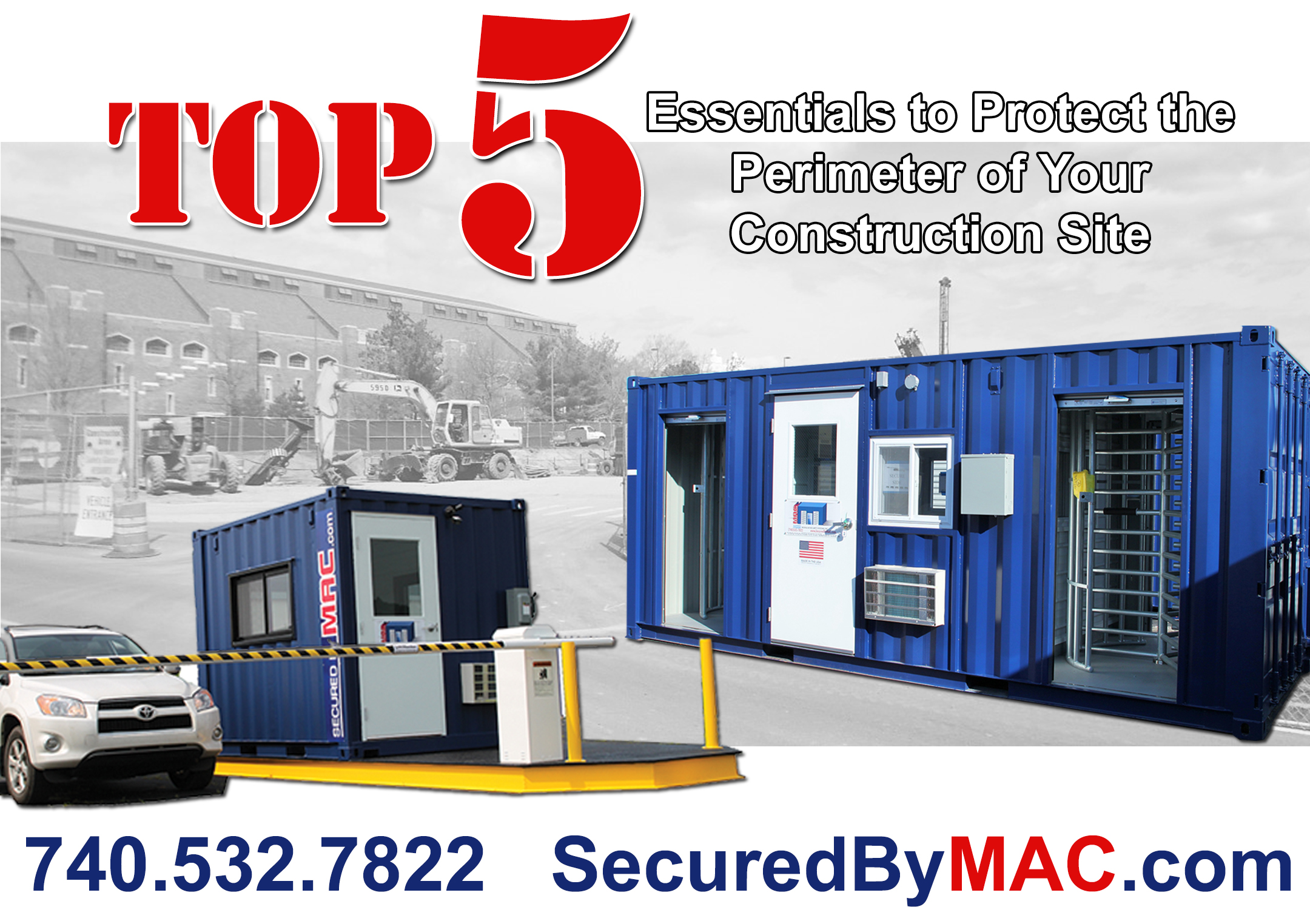 Top 5 Essentials to Protect the Perimeter of Your Construction Site