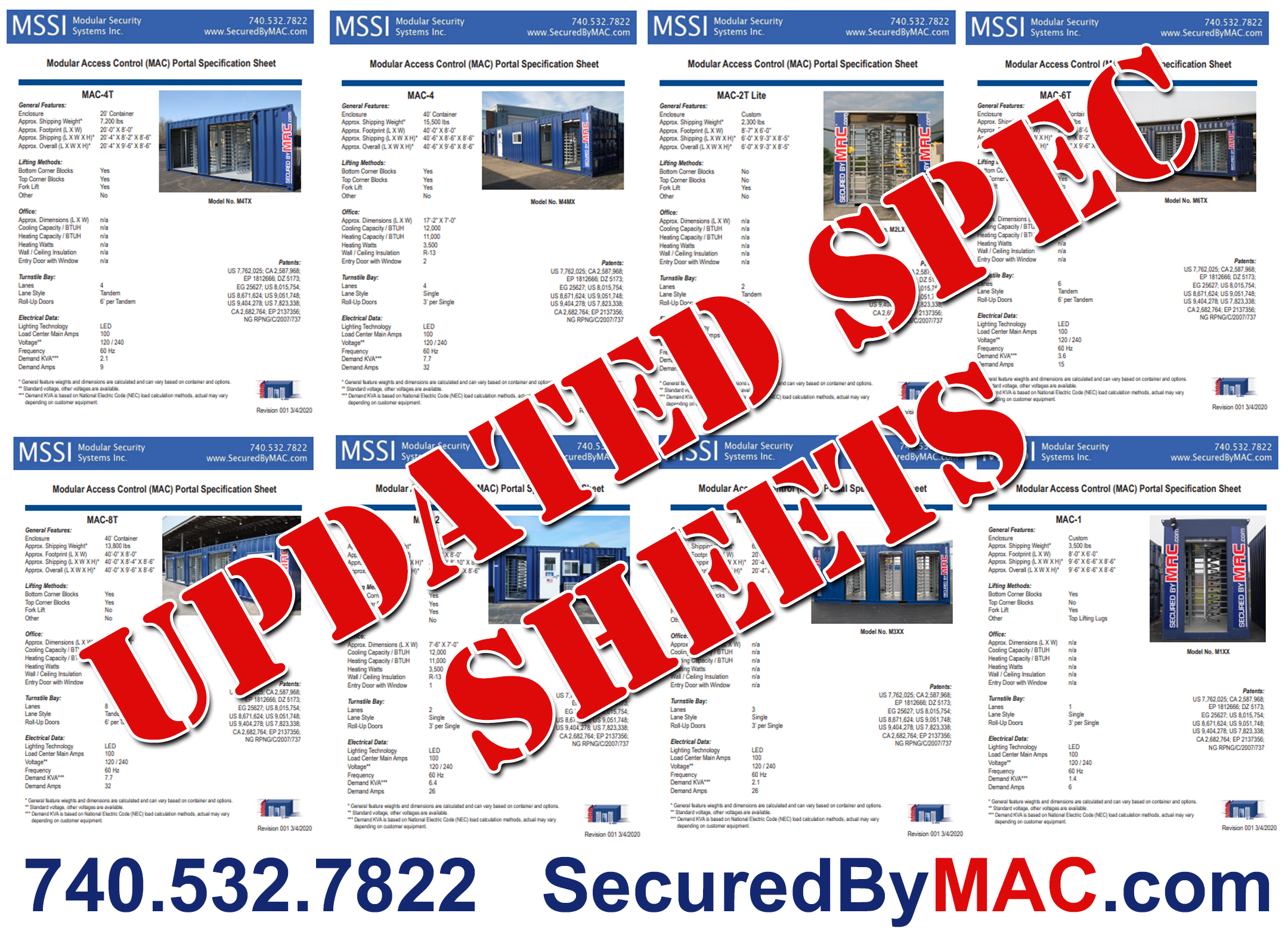 MSSI Offers Updated Spec Sheets for Perimeter Security Customers