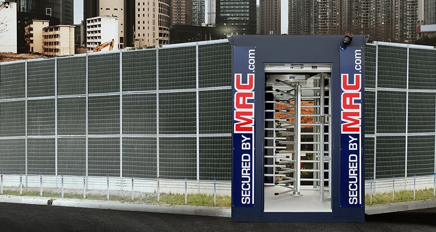 turnstiles, MSSI, Modular Security Systems Inc., Perimeter turnstiles, access control turnstiles