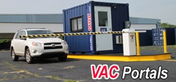vehicle barrier arm, vehicle barrier gate, MSSI, Modular Security Systems Inc, vehicle barrier with office, vehicle gate with office, vehicle access control